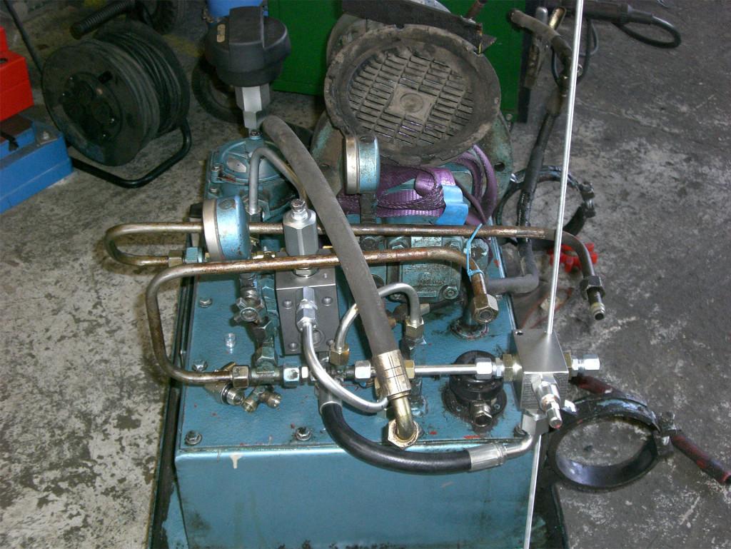 1_0016_10 Ombyggnad hydraulaggregat åt E,on Värme Nordmaling