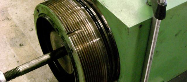 Reparation av press-cylinder